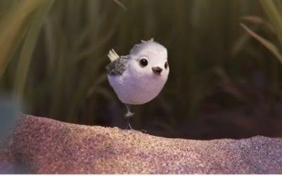 Piper, de kleine watersnip van Pixar