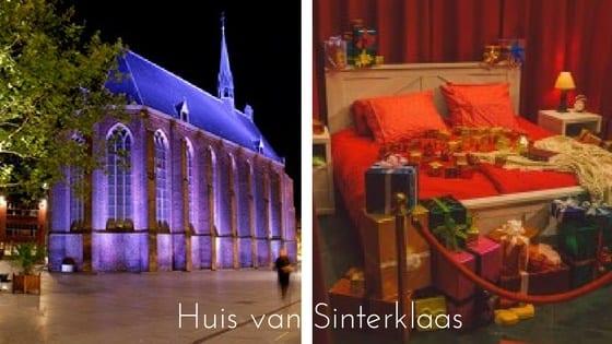 Het Huis van Sinterklaas in de MariënburgKapel in Nijmegen