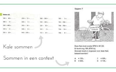 Oefenen van de CITO contextsom